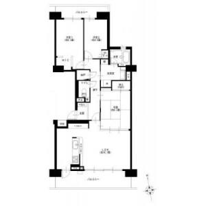 3LDK {building type} in Bukkonishi - Yokohama-shi Hodogaya-ku Floorplan