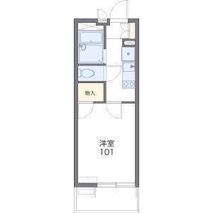 1K Apartment in Noborito - Kawasaki-shi Tama-ku Floorplan