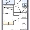 1K Apartment to Rent in Osaka-shi Nishinari-ku Floorplan