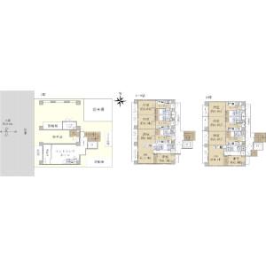 Whole Building {building type} in Hokima - Adachi-ku Floorplan