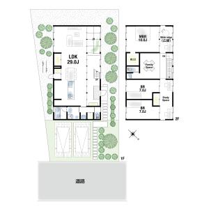 4SLDK {building type} in Midorigaoka - Toyonaka-shi Floorplan