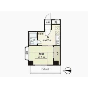 1K {building type} in Honcho - Nakano-ku Floorplan