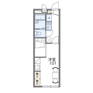 1K Apartment in Koremasa - Fuchu-shi Floorplan