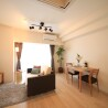 1LDK Apartment to Rent in Osaka-shi Kita-ku Living Room