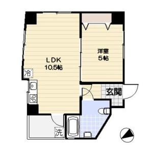 1LDK Mansion in Asakusabashi - Taito-ku Floorplan