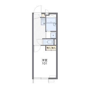 1K Apartment in Mihara - Nagareyama-shi Floorplan