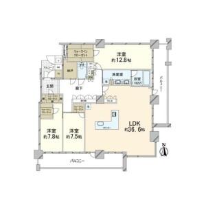 3SDK {building type} in Fukushima - Osaka-shi Fukushima-ku Floorplan