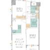 在中央区购买2LDK 公寓大厦的 内部