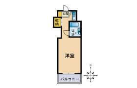 1R {building type} in Fukuda - Yamato-shi