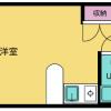 在豊岛区内租赁1R 公寓大厦 的 楼层布局