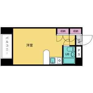 豊岛区長崎-1R公寓大厦 楼层布局