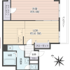 1LDK Apartment to Buy in Yokosuka-shi Floorplan