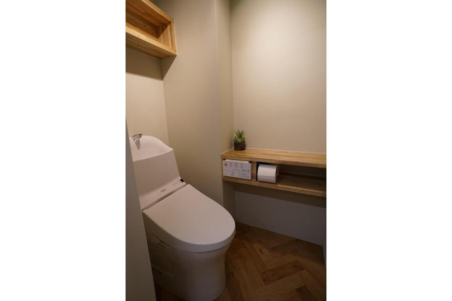 1LDK Apartment to Buy in Sapporo-shi Chuo-ku Toilet