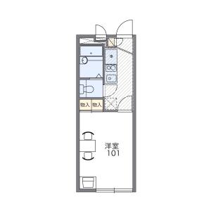 1K Mansion in Ukima - Kita-ku Floorplan