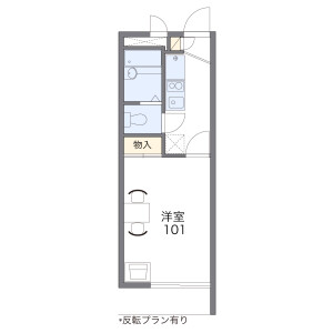 1K Apartment in Osonedai - Yokohama-shi Kohoku-ku Floorplan