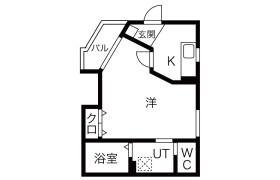 大阪市西淀川区姫里-1K公寓大厦