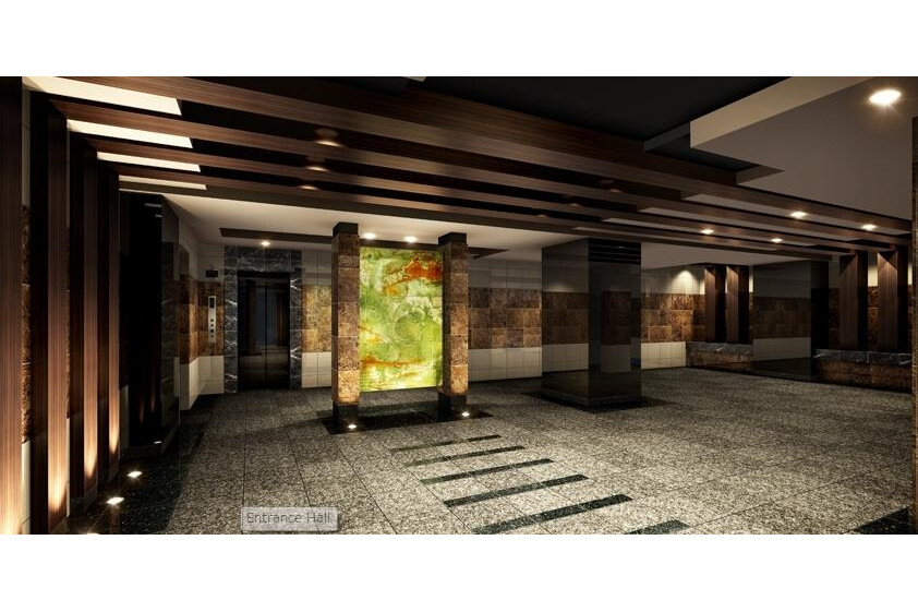 1K Apartment to Buy in Chuo-ku Entrance Hall