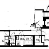 1LDK Apartment to Rent in Meguro-ku Floorplan