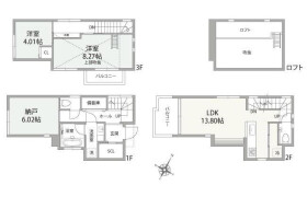 2LDK {building type} in Osaki - Shinagawa-ku