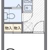 1K Apartment to Rent in Osaka-shi Hirano-ku Floorplan