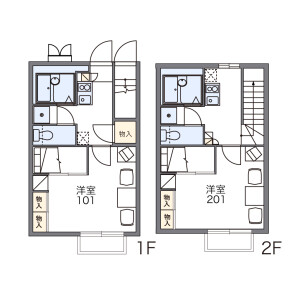 1K Mansion in Befu - Fukuoka-shi Jonan-ku Floorplan