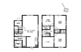 3LDK House in Fukakusaokamedani higashideracho - Kyoto-shi Fushimi-ku