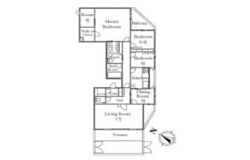 港区 - 高輪 公寓 3LDK