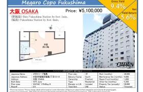 1R {building type} in Fukushima - Osaka-shi Fukushima-ku
