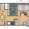 1LDK House to Rent in Arakawa-ku Floorplan