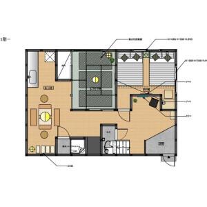 1LDK House in Minamisenju - Arakawa-ku Floorplan