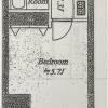 1R Apartment to Buy in Chiyoda-ku Floorplan