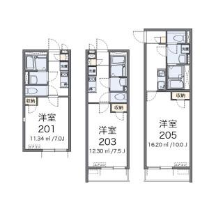 1K Apartment in Asagayakita - Suginami-ku Floorplan