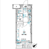 在中央區內租賃1K 公寓大廈 的房產 房間格局