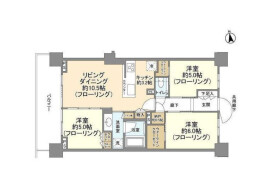 3LDK Mansion in Honan - Suginami-ku