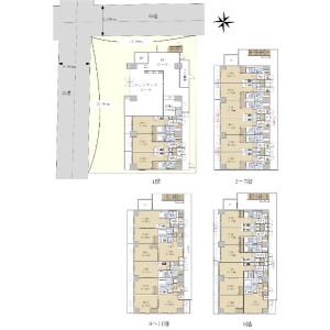 Whole Building {building type} in Nihonzutsumi - Taito-ku Floorplan