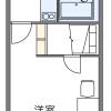 1K Apartment to Rent in Kizugawa-shi Floorplan