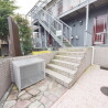 1K Apartment to Rent in Hino-shi Building Entrance