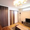 在大阪市西成區內租賃1LDK 獨棟住宅 的房產 起居室