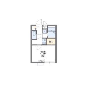 1K Apartment in Kohinata - Bunkyo-ku Floorplan