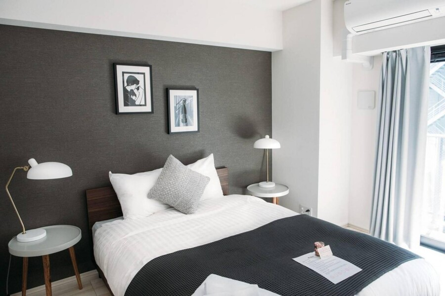 在Chuo-ku内租赁1LDK 大厦式公寓 的 卧室