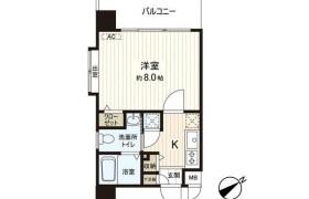 1K Apartment in Hakataeki minami - Fukuoka-shi Hakata-ku