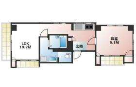 1LDK Mansion in Shimohirama - Kawasaki-shi Saiwai-ku