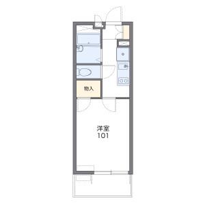 1K Mansion in Hamadacho - Amagasaki-shi Floorplan