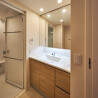 在江東區購買2LDK 公寓大廈的房產 盥洗室