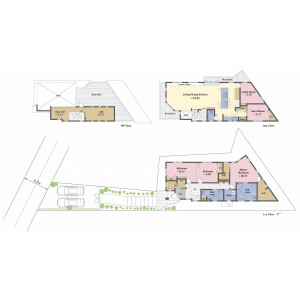 5SLDK House in Denenchofu - Ota-ku Floorplan