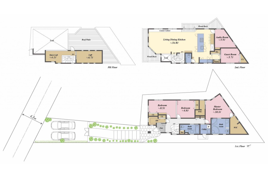 5SLDK House to Buy in Ota-ku Floorplan
