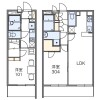 1LDK Apartment to Rent in Itabashi-ku Floorplan