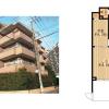2LDK アパート 世田谷区 内装