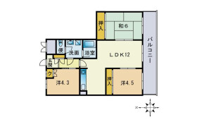 3LDK Apartment in Imajukuekimae - Fukuoka-shi Nishi-ku