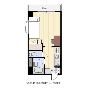 1R Mansion in Otowa - Bunkyo-ku Floorplan
